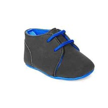 First Impressions Baby Boys' Desert Boots Dark Grey Faux Suede Size 0, n... - £8.94 GBP