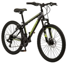 """24"""" Boy's Excursion Mountain Bike w/ Front Suspension and Front Disc Brake - $242.45"""