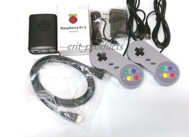 Raspberry Pi 3 Video Game System -Retropie, Pixel PC, Retro Games, Emula... - $80.95