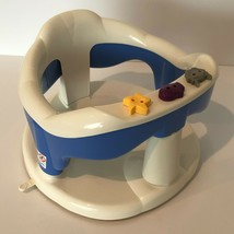 Aquababy Thermobaby Infant Baby Safety Bath Seat Blue White Suction Cups... - $36.09