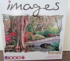 """MAGNOLIA GARDENS SOUTH CAROLINA"" Bridge Creek Jigsaw Puzzle NIB NEW - $14.01"