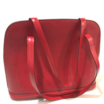 AUTHENTIC LOUIS VUITTON Epi Lussac Shoulder Bag Castillian Red Leather M... - $435.00