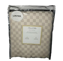 Peacock Alley Cotton Matelasse King Pillow Sham Beige Portugal NWT FREE ... - $34.64