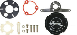 1963 Chevy Steering Wheel Horn Cap Contact Mounting Kit Support Bracket Emblem - $99.99
