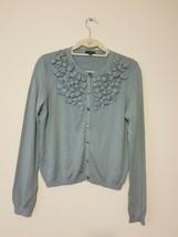 ANN TAYLOR Applique sweater cardigan, Size M - $20.00
