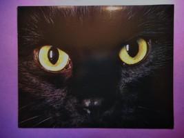 Vintage Halloween Favorite Black Cat Greeting Card, Mint, NOS, w/White E... - €5,25 EUR