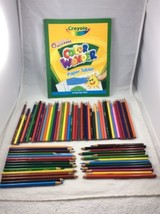 Crayola Color Pencils and Markers Lot of 145 Great Homeschool or Craft S... - $18.59