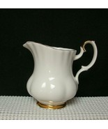 Royal Albert VAL D'OR Bone China 5 Ounce MINI CREAMER Cream Made in England - $10.30