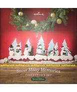 Hallmark 2018 Snow Many Memories Special Edition Collector's Set, 10 Pieces - $99.99