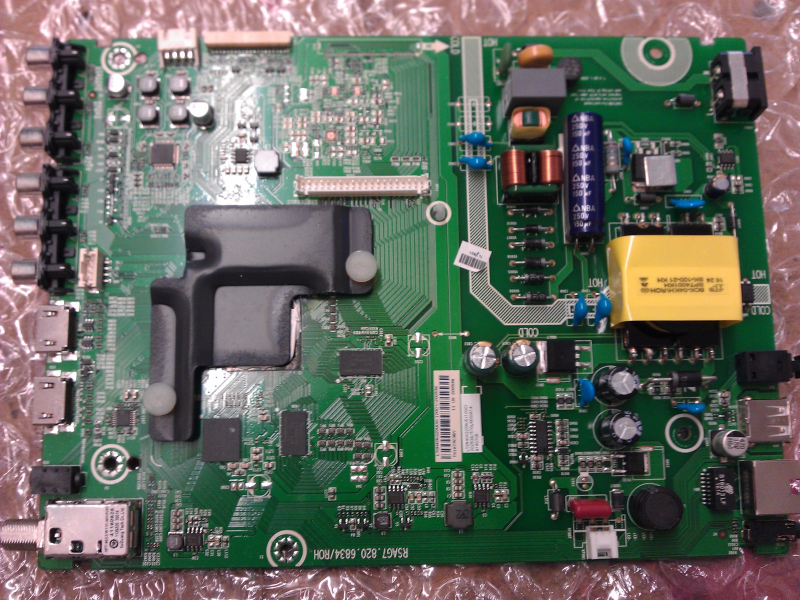 200538 Main Board / Power Supply Board From Hisense 40H5B LCD TV
