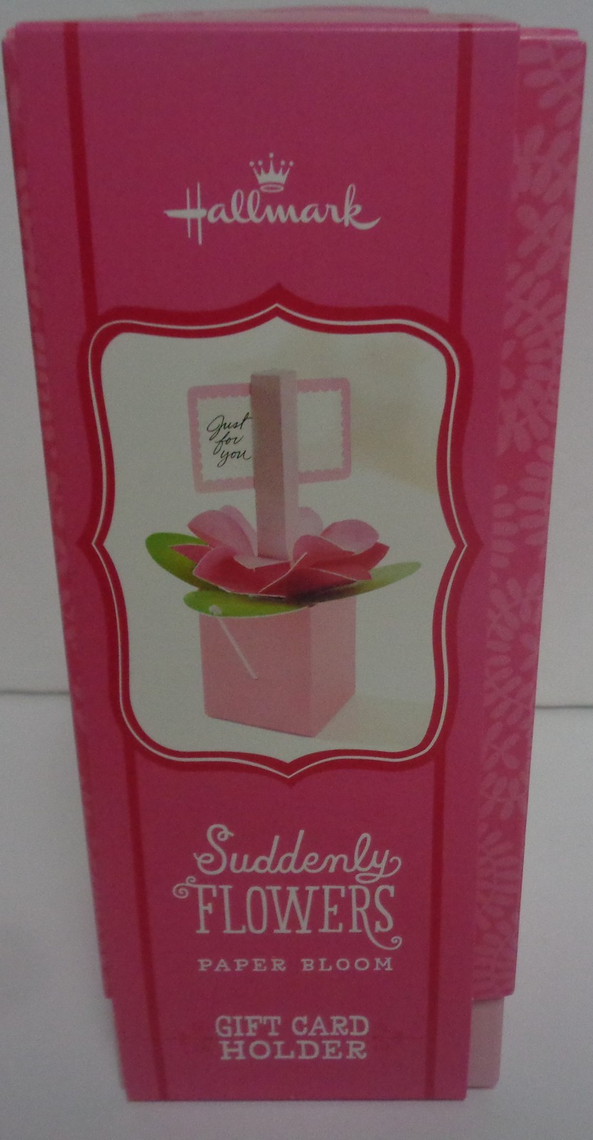 Hallmark Floral Pop Up Card Holder Special Occasion NWT Free Shipping