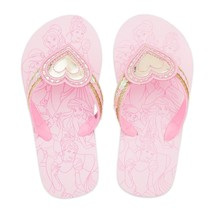 Toddler or Child Disney Store Princess Flip Flops Size 7/8 9/10 11/12 13/1 2/3 - $10.99+
