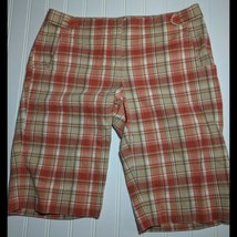 Ann Taylor Loft Plaid Shorts Size 4 Womans - $12.86