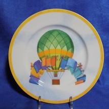 WILLIAMS-SONOMA Montgolfiere Hot Air Balloon Salad Plate - Discontinued - Euc - $19.95