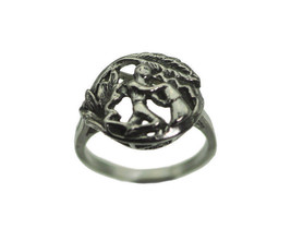 AQUARIUS Sterling Silver 925 Zodiac Astrology sign Horoscope ring Pick S... - $26.47