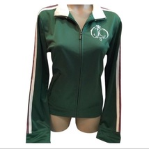 Juicy Couture Green athletic Long sleeve Jacket Large L NEW - $64.95