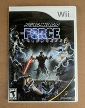 Star Wars: The Force Unleashed Nintendo Wii, 2008 Complete with Manual -... - $9.45
