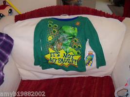 Disney's Toy Story Rex It's Not My Fault shirt size 3T Boy's NEW - $18.48