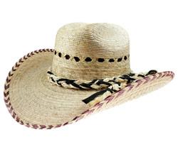 Men's El General Chihuahua Palm Hat  Sombrero de Palma Natural - €27,20 EUR