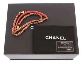 CHANEL Handbag Caviar Leather Salmon Pink CC Logo A92991 Italy Authentic 5500253 image 7
