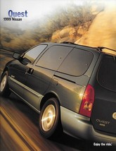 1999 Nissan QUEST sales brochure catalog US 99 GXE SE GLE - $6.00