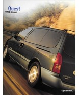 1999 Nissan QUEST sales brochure catalog US 99 GXE SE GLE - $6.00