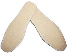 Shoeslulu Premium Lambswool Ultra Thin Insoles US Women 5 / EU 35, Cream - $8.58