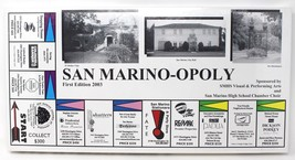 San Marino-opoly Monopoly Style Board Game Huntington San Marino Califor... - $44.28