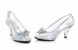 Ellie 305-CINDER Klar Schmetterling Prinzessin Tanz Kostüm Pumpe Absatz ... - $52.50