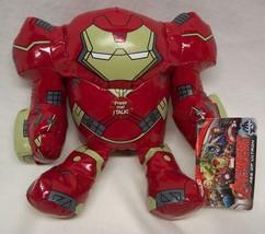 "Marvel Avengers Talking Iron Man Hulkbuster Suit 8"" Plush Stuffed Toy New - $18.32"