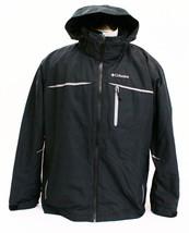 Columbia 3-in-1 Black Omni Shield Split Immersion Hooded Parka Jacket Men's - $217.49