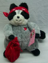 "Vintage Hallmark LOVE BANDIT RACCOON 8"" Plush Stuffed Animal Toy w/ TAG - $16.34"
