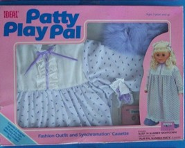 "1987 IDEAL TALKING  24"" PATTY PLAYPAL SLEEP N SLUMBER FASHION OUTFIT & C... - $28.71"