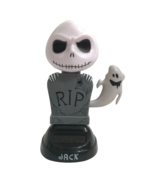 Nightmare Before Christmas Jack Skellington Solar Dancing Bobble Head Ha... - $9.74