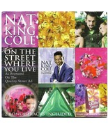 Nat King Cole On The Street Where You Live Promotional CD Quality Street... - $7.95