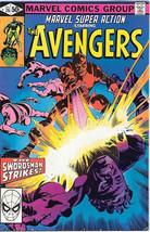Marvel Super Action Comic Book #26 The Avengers 1980 FINE - $3.25