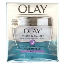 Olay White Radiance Light Perfecting Skin Whitening Night Cream 50 grams - $17.81