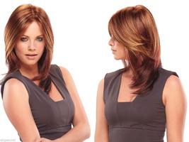 JuliaJon Julia Long Monofilament Jon Renau Straight Blonde Brunette Red Wigs  - $293.76