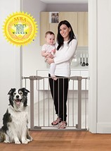Dreambaby Boston Magnetic Auto Close Security Gate w/Stay Open Feature (29.5-38