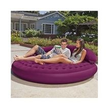 Garden Daybed Pool Chair Patio Lounge Sleeper Lounger Outdoor Kids Infla... - $82.00