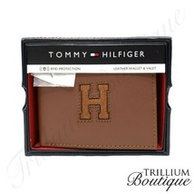 Tommy Hilfiger Men's RFID Protect Leather Wallet & Valet New In Box! - $69.27
