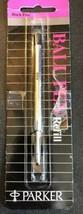 1 Parker Black Ball Pen Refill New - $5.15