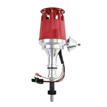 Pro Series R2R Distributor for Ford SBWindsor 289/302W, V8 Engine Red Cap