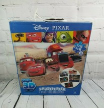 Disney Pixar Super 3D 5 Puzzle Pack- Cars, Wall-E, Incredibles, Toy Story - $19.90