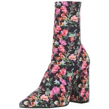 Steve Madden Women's Lombard Ankle Boot, Floral, 9 M US MSRP 109.95 New - $87.11