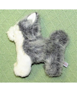 American Girl SIBERIAN HUSKY x2 Pepper Plush Stuffed Kaya's Dog Grey Whi... - $12.19