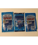 Paper Mate Grip Ballpoint Pens Blue Ink 3 Packs of 8 Ct Each Lot of 24 T... - $19.99
