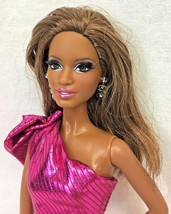 Barbie City Shine The Look Rooted Eyelashes AA Black Pazette Model Muse ... - $21.95