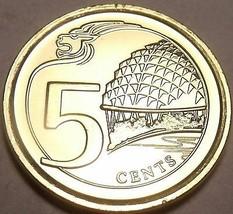 Gem UNC Singapur 2013 5 Cent ~Multiply~ Theater auf dem Bay ~ Kanadische... - $3.62