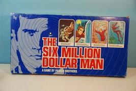 The Six Million Dollar Man - Parker Brothers 1975 Used Clean - $23.76